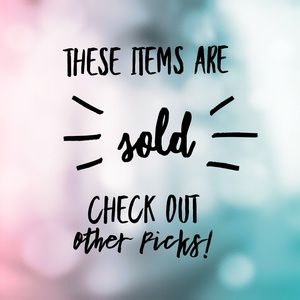 Other - Items from this point on are already sold! 🔒